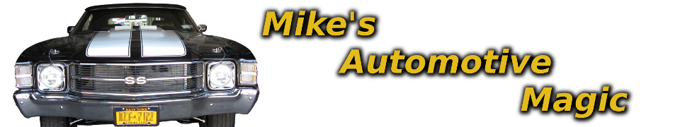 Header Image for Mike's Automotive Magic